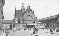 Der Essener Hauptbahnhof vor dem Umbau (Ansichtskarte)