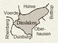 Dinslaken und Nachbargemeinden, Bild von Xantener, Wikipedia, Lizenz CC-BY-SA 3.0