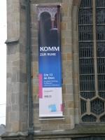 Plakat am Dom in Essen, eigenes Bild. Lizenz: cc-by-sa 3.0