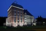 Schloss Horst zur blauen Stunde, Bild von Sir Gawain, Wikipedia, Lizenz: CC-BY-SA-3.0