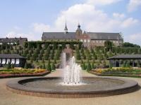 Kloster Kamp mit barockem Garten, Bild von Yorg, Wikipedia. Lizenz: cc-by-sa 2.0