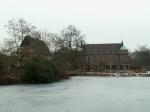 Fachwerkhaus, Wasserschloss und See