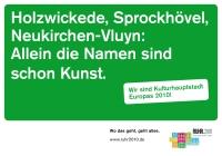 Plakat aus 2009 (c) Ruhr.2010