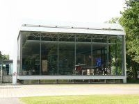 Lehmbruck Museum, Bild von Gerardus, Wikipedia. Lizenz: Public Domain