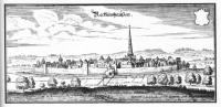 Kupferstich der Stadt von Matthäus Merian von 1647.