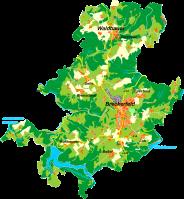 Breckerfeld-Karte von Morty, Wikipedia, Lizenz: cc-by-sa 3.0