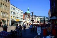 Innenstadt, Bild von jezFabi, Wikipedia, public domain