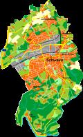 Schwelm, Karte von Morty, Wikipedia. Lizenz: cc-by-sa 3.0
