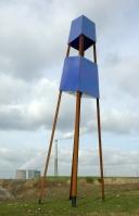 Skulptur auf Großes Holz, Bild von Smial, Wikipedia, Lizenz: cc-by-sa-nc