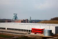 Neue Logistik auf Ewald, Bild von RAG Montan Immobilien GmbH, Wikipedia, Lizenz: cc-by-sa 3.0