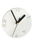 021 GLUCK, Wanduhr - Schichtstoffplatte, Uhrwerk (ohne Batterie). Martin Neuhaus, D-Köln. 19,90 EUR