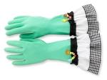 "024 ""Helfende Hände"", Haushaltshandschuhe - Latex, Baumwolle. Ursula Pahnke-Felder, NL-Venlo. 11.90 EUR"