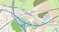 Lage Ruhrauenbrücken, Karte http://www.openstreetmap.org/, Lizenz: cc-by-sa 2.0