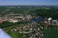 Der schmale Kettwiger See, Foto von Heinz Albers, Wikipedia, Lizenz: vv-by-sa 3.0