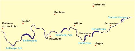 Ruhrseen, Zeichnung von Helfmann, Wikipedia, Lizenz: cc-by-sa