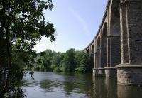 Ruhr-Viadukt in Herdecke, Bild von Janericloebe, Wikipedia, Lizenz: Public domain