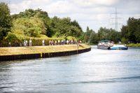 Radweg direkt am Kanal, Foto von Stefan Schejok (c)