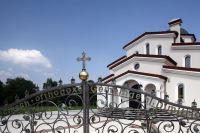 Griechisch Orthodoxe Hl.Dimitrios Kirche in Herten / Foto: Thomas Robbin