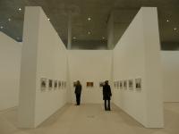 eingezogene Ausstellungswände (c) eigenes Bild