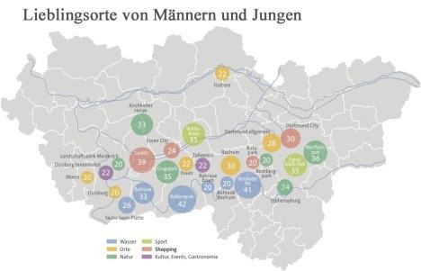 Lieblingsorte von Männern und Jungen im Ruhrpott (c) RVR