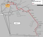Streckennetz Abellio 2007, Zeichnung von Knut Rosenthal, Wikipedia, Lizenz: cc-by-sa 3.0
